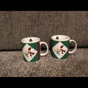 Vintage Ro Gregg Christmas Mugs